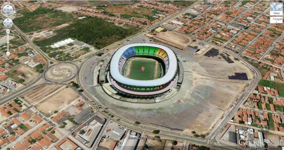 Fortaleza - Castelão - Estádio Governador Plácido Castelo