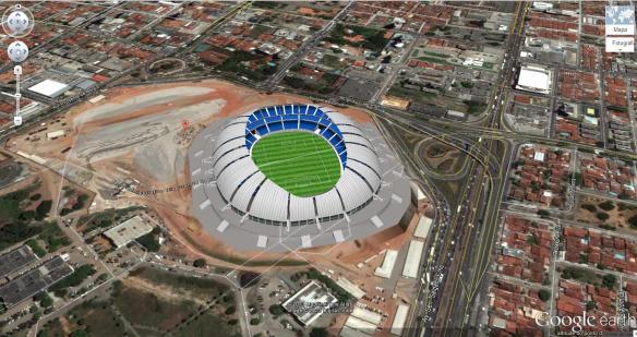 Natal - Arena das Dunas - Estádio João Cláudio de Vasconcelos Machado