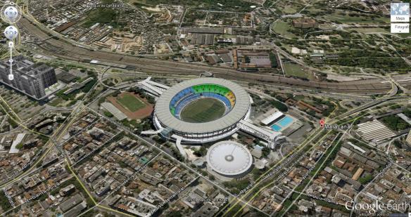 Rio de Janeiro - Maracanã - Estádio Mário Filho