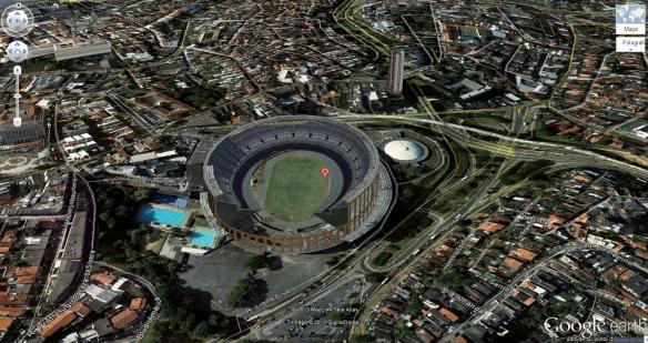Salvador - Fonte Nova - Estádio Otávio Mangabeira