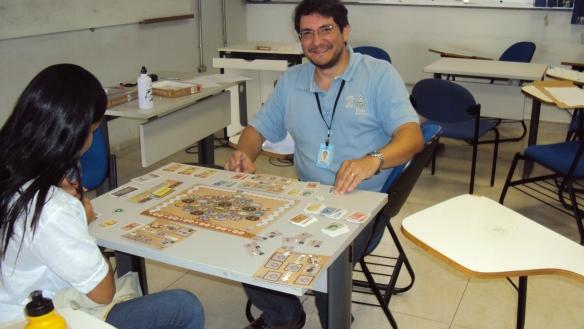 Prof. Rômulo Ribeiro jogando